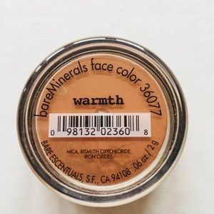 bareMinerals Makeup - New! bareMinerals All-Over 'Warmth' Face Color/Bag